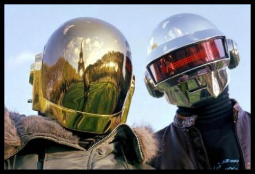 Daft Punk in Paris